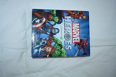 Woolworths Marvel Super Heroes Discs and case