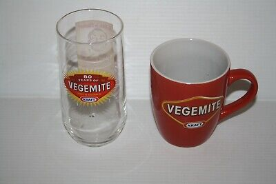 Vegemite Collectable Cup and Glass