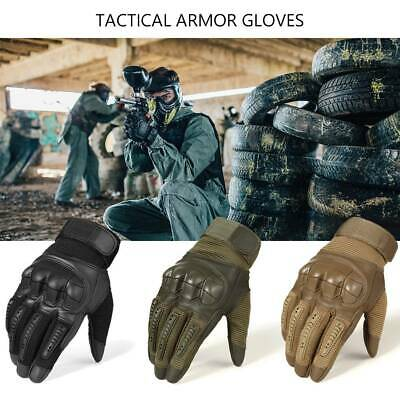 Military Tactical Assault Contact Gloves Hard Knuckle Army Safety Airsoft S-XL