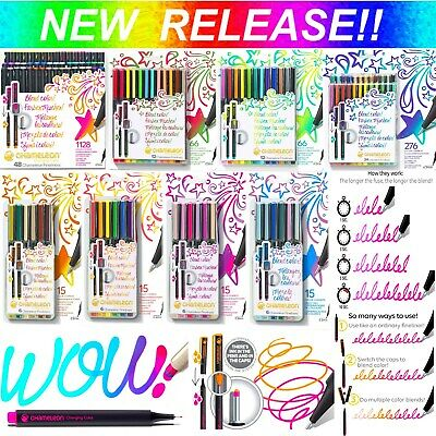 NEW! Chameleon Colour Blending Fineliner Pens Art Markers Fine Liners Fineliners