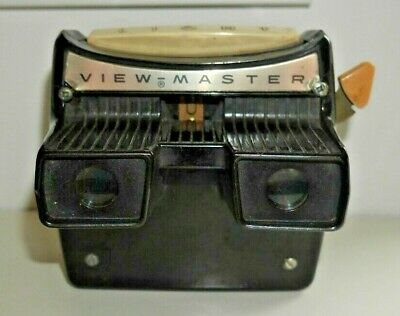SAWYER'S VIEWMASTER LIGHTED VIEWER ORIGINAL 1950's MODEL F RARE WORKING   F593