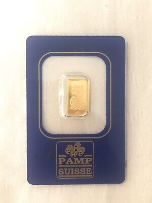 PAMP Suisse Gold 1 Gram Sealed And Certified, Australian Seller