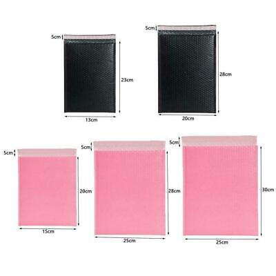 Pastel Pink Poly Bubble Mailers Padded Bags Shipping Self Envelopes Mailing W5Y3