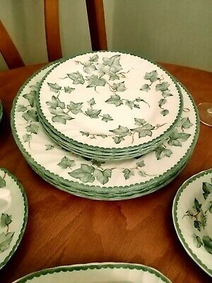 BHS Country Vine 4 Large Dinner Plates Excellent Condition