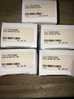 Lot Of 5 Span s122-30-60-PSI-VSM