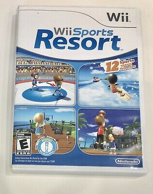 Wii Sports Resort Nintendo Wii / Wii U NFR Case Complete Works Great Ships Fast