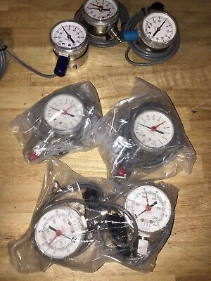 Lot Of 7 Span Gauges 3 Model Types