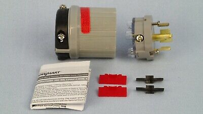 Eaton Arrow Hart 7411C Hart-Lock Locking Plug 20 Amp 120/208V BRAND NEW