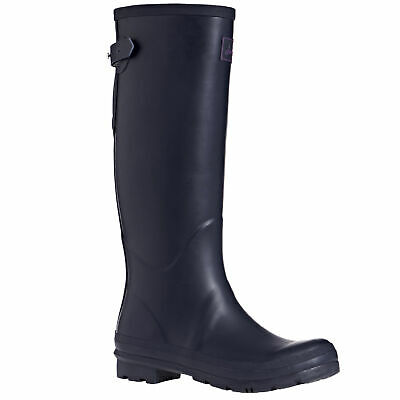 Joules Field Womens Boots Wellington - Navy All Sizes