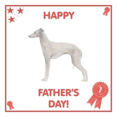 Italian Greyhound Valentine/'s Day Card PERSONALISATION AVAILABLE
