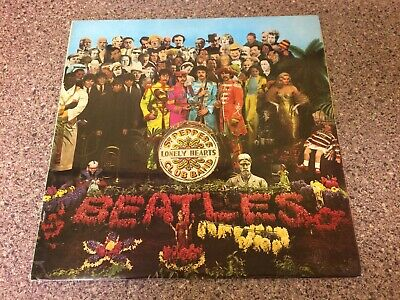 The Beatles SGT Peppers Stunning Early 70's 2 x Emi Laminate Sleeve UK LP !