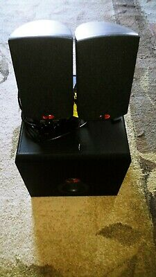 Klipsch ProMedia 2.1 THX Certified Speakers, sub(PURCHASED NEW,1 ADULT OWNER)