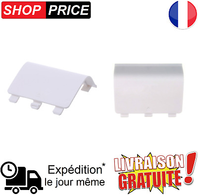 Cache Pile / batterie Blanc pour manette Xbox One / One S (NEUF)