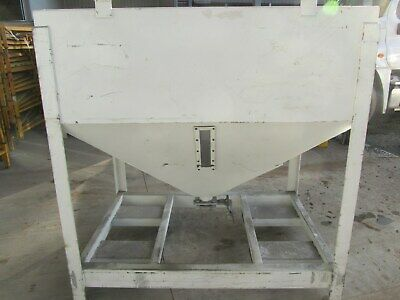 Metalcraft Transtore Tote Hopper Bin, Portable, Stackable, Used