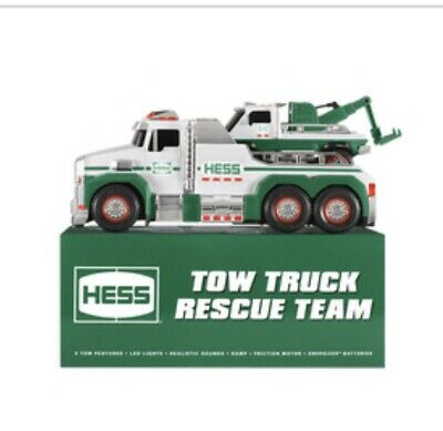 2019 Hess Holiday Edition Toy Truck Rescue Team - New In Box