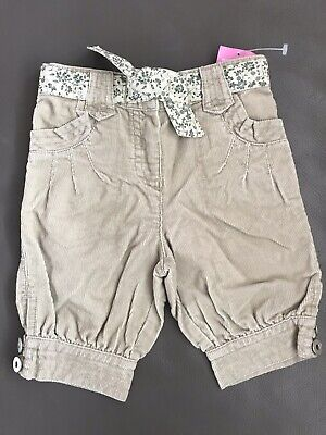 BNWT Baby Girls Marks & Spencer Cropped Trousers/Shorts, Age 12-18 Months