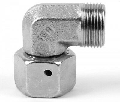 EW20SCF Parker EO Swivel Nut Elbow 24˚ Flareless Female swivel OD 20mm x M30