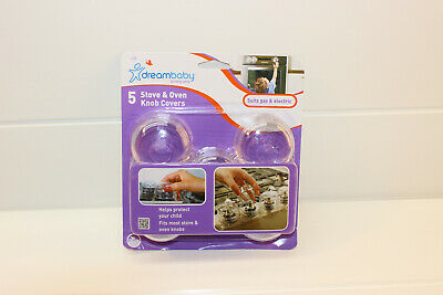 Dreambaby 5pack stove & Oven Knob Covers (BRAND NEW IN ORIGINAL PACKAGING)