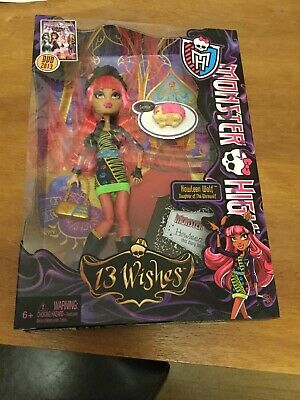 Monster High - 13 wishes - Howleen Wolf - BNIB - Rare New