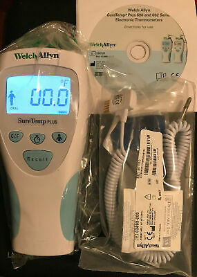 Welch Allyn 01692-200 SureTemp Plus Model 692 Electronic Thermometer