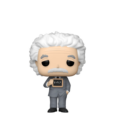 Albert Einstein POP Vinyl Figure #26 Funko Icons World History New