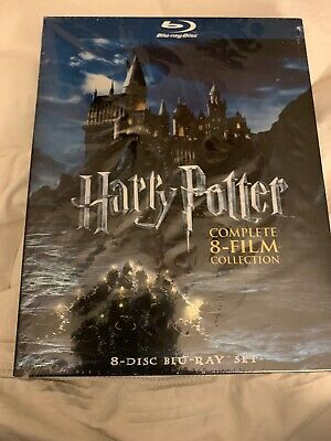 Harry Potter Complete 8-Film Collection (8-Disc Set BLU-RAY, 2011)