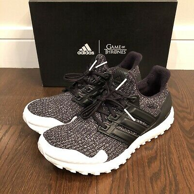"adidas Ultra Boost 4.0, Game of Thrones ""Nights Watch,"" Men's Size 10 [EE3707]"