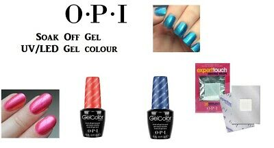 OPI Soak Off Gel UV Nail Polish/Base/Top Coat Genuine Product Various Color-15ml