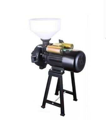 Electric Poultry Feed Mill Wet Dry Grinder Corn Grain Rice Wheat 220V-2200w