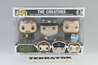 Funko Pop Game Of Thrones The Creators NYCC 2018 Fall Convention Exclusive HBO