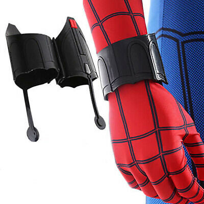Spiderman Homecoming Peter Web Shooter Wrist Guard Spider Prop Cosplay Christmas