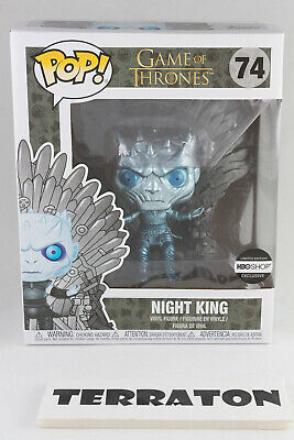 Funko POP! Metallic Night King on Throne #74 Game of Thrones HBO Exclusive
