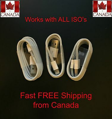 Quality iPod 8 Pin USB Charger Charging Lightning Cables
