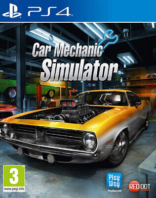 Car Mechanic Simulator PS4 ~ BRAND NEW SEALED ~