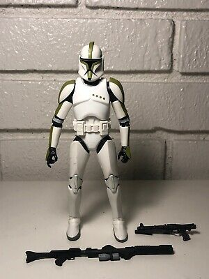 Star Wars The Black Series #7 GREEN CLONE TROOPER SERGEANT Complete Mint