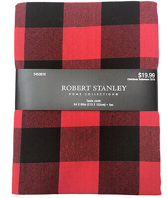 Red /& Black Buffalo Plaid Placemat Check Robert Stanley Rustic Country R