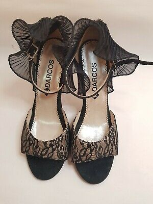 Women Argentinian Tango Shoes by  Darcos size 37 -USED in as new condition