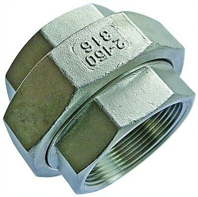 "SSFEU24 1.1/2"" BSPP Equal Female Union Stainless Steel Fitting"