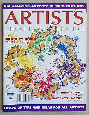 Artist's Drawing & Inspiration - Issue 9