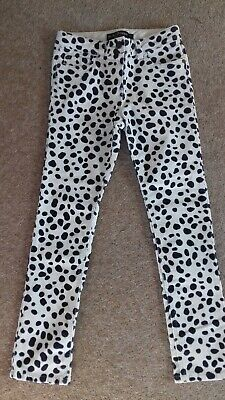 Girls funky print Boden cords - age 10
