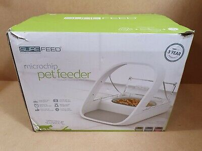 Surefeed Microchip Pet Feeder Excellent Condition Never Used Boxed