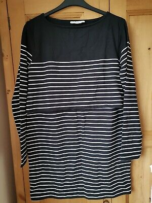 Jojo maman bebe Breton Stripe Nursing Dress