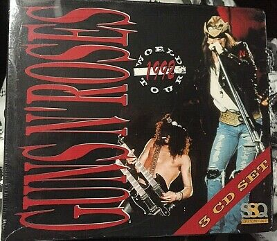 GUNS N' ROSES - Record Live During '92 World Tour - 3 CD LIVE NO CDr RARO SEALED