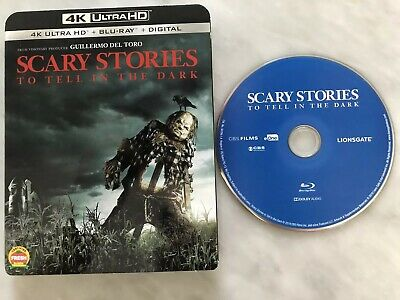 Scary Stories To Tell In The Dark Ultra 4K Slipcover W/Bluray DVD Disc Halloween