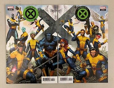 House of X Powers Of X #4 (Marvel 2019) Molina Connecting Variant Set