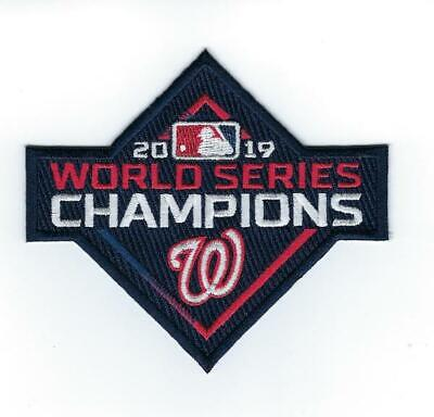 2019 Washington Nationals World Series Champions Patch-IN STOCK