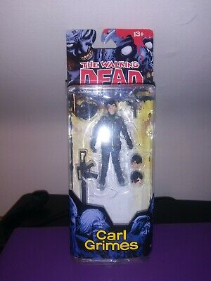 The Walking Dead TWD Carl Grimes Series 4 Action Figure Mcfarlane Toys Skybound