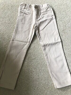 Girls Beige Ralph Lauren Chino Trousers Age 4