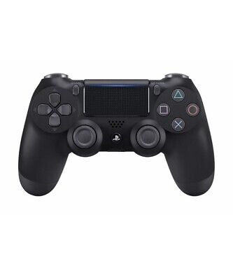 Official DualShock Ps4 Wireless Controller Jet Black SONY Playstation 4 PS4