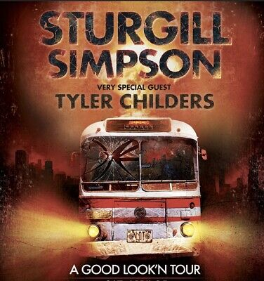 Sturgill Simpson and Tyler Childers Nationwide Arena - 2 Tickets.